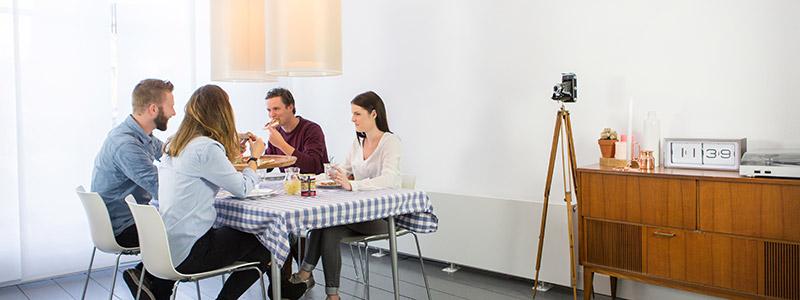 Eten aan tafel